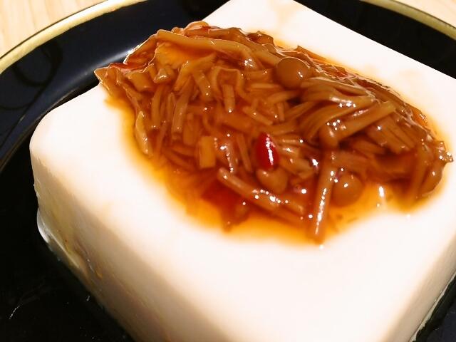 えのき・なめ茸・信州・レシピ・冷奴・豆腐